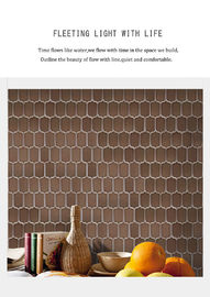 Durable Glossy Porcelain Subway Wall Tile For Size 75x300 / 100x200mm